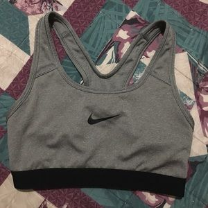 Sports Bra (Grey)